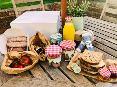 Breakfast Hamper Plush Tents Glamping