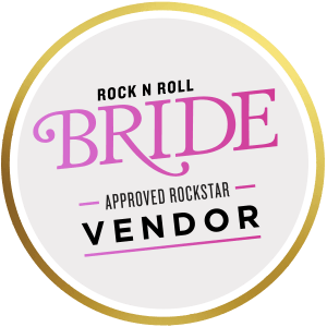 rock and roll bride approved vendor plush tents glamping