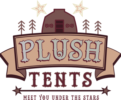 Resize Transparent Plush Tents Glamping Chichester West Sussex Colour Logo