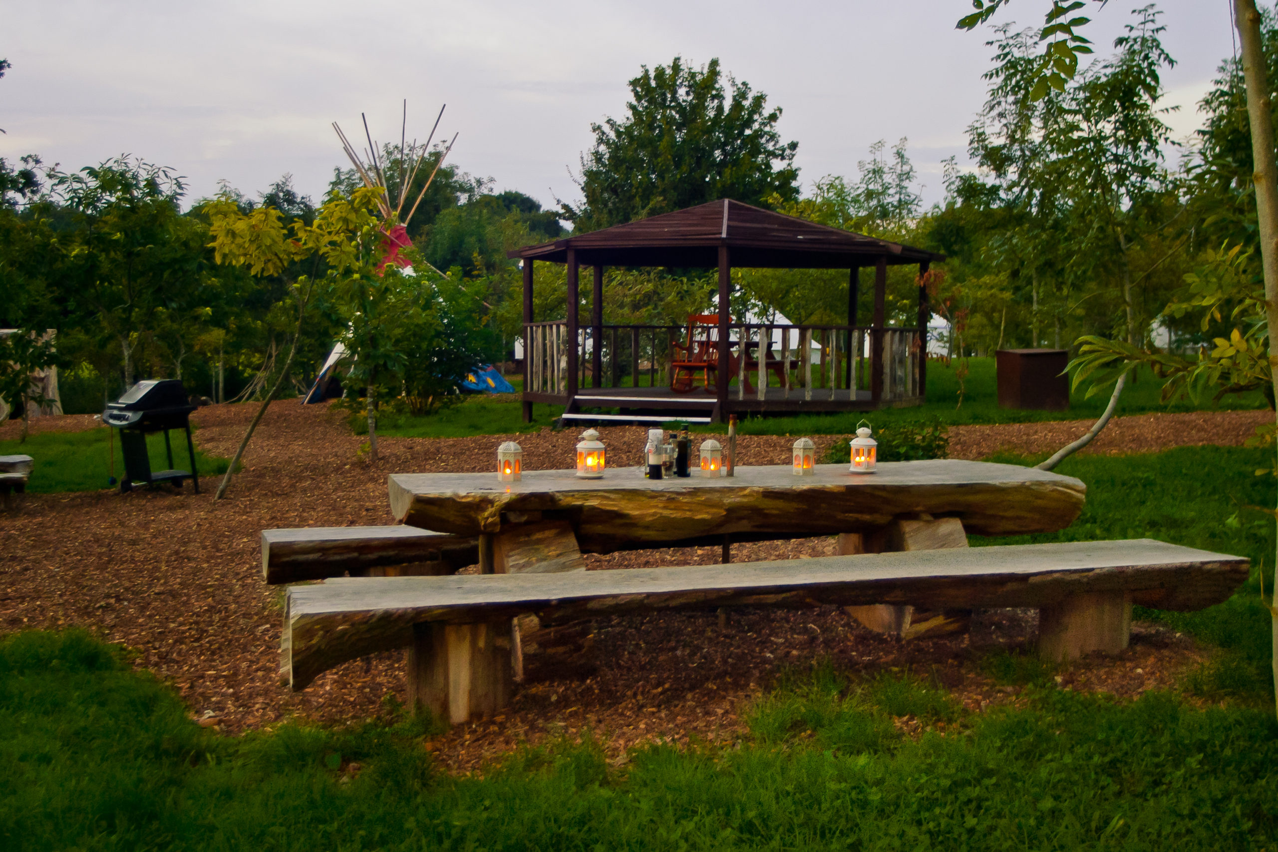 Bandstand Plush Tents Glamping