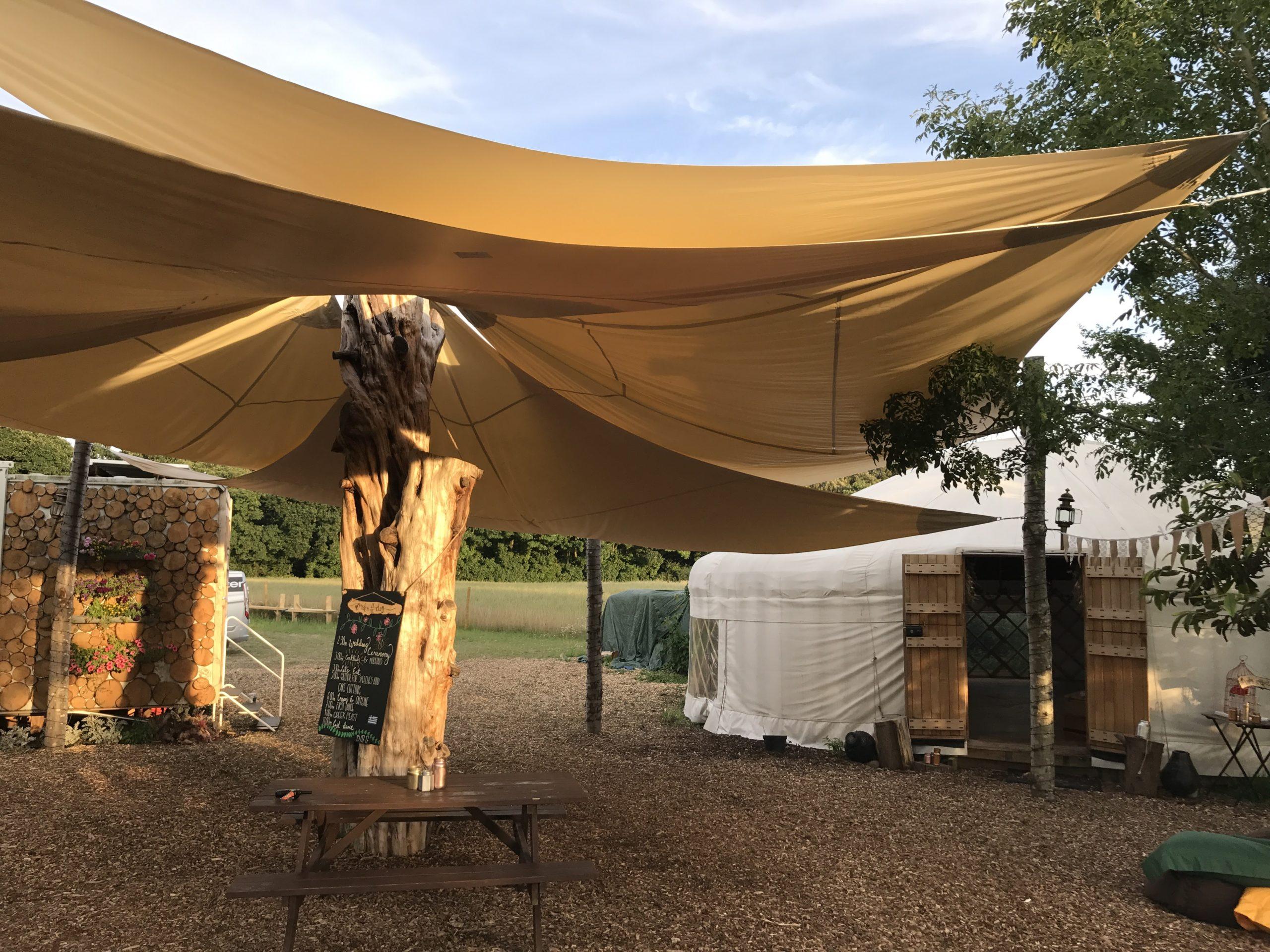 HEX Shade Plush Tents Glamping