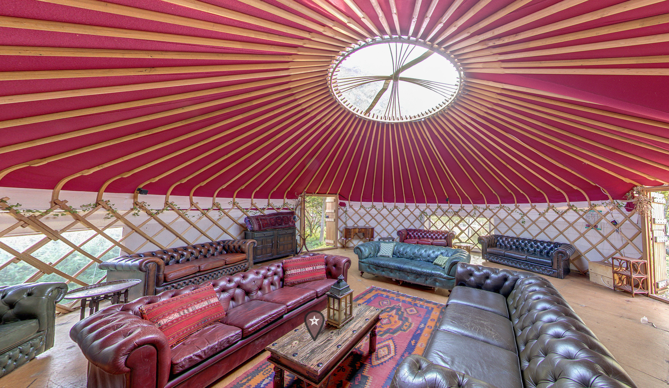 Home Yurt Plush Tents Glamping