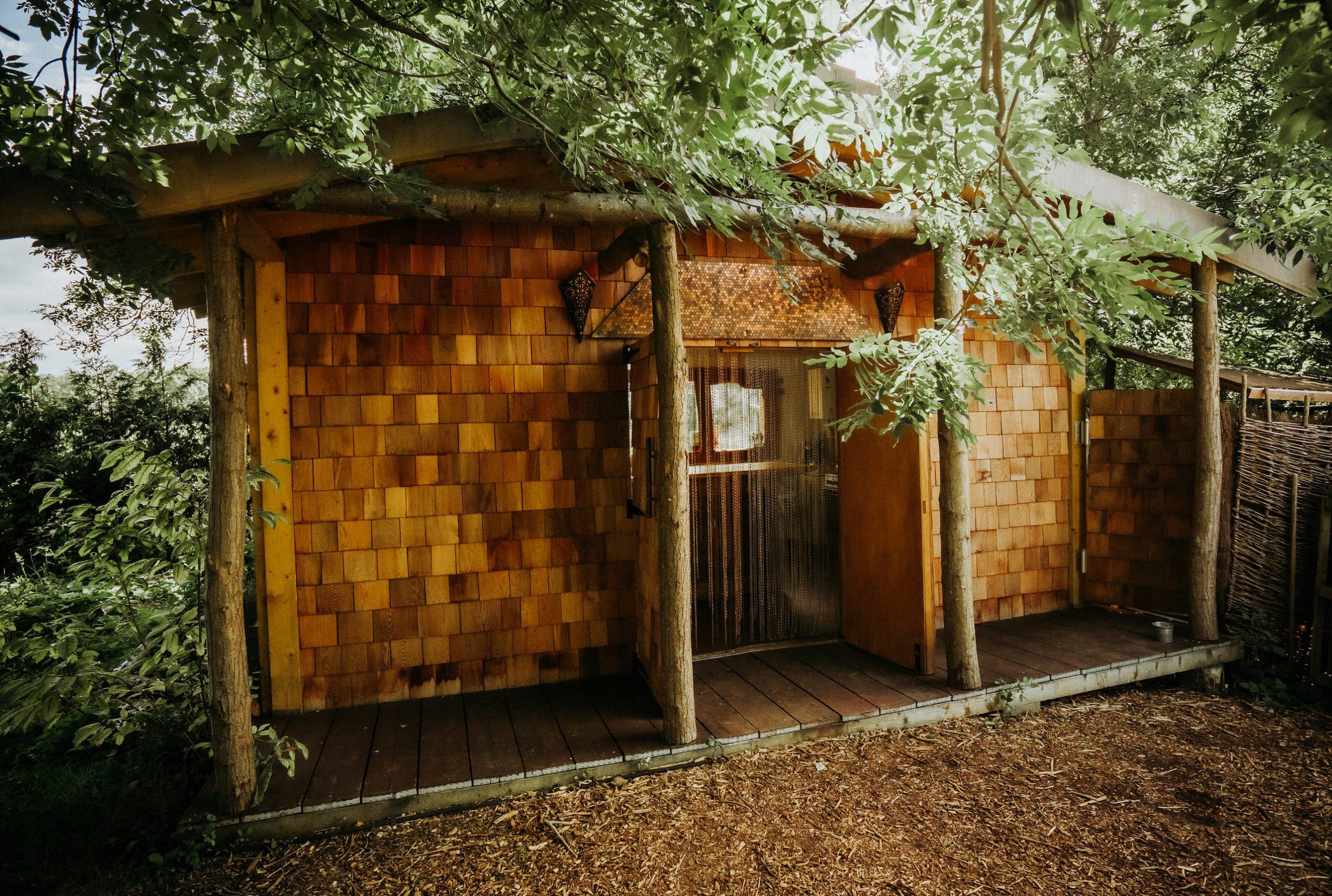 Tree House Kitchen Plush Tents Glamping