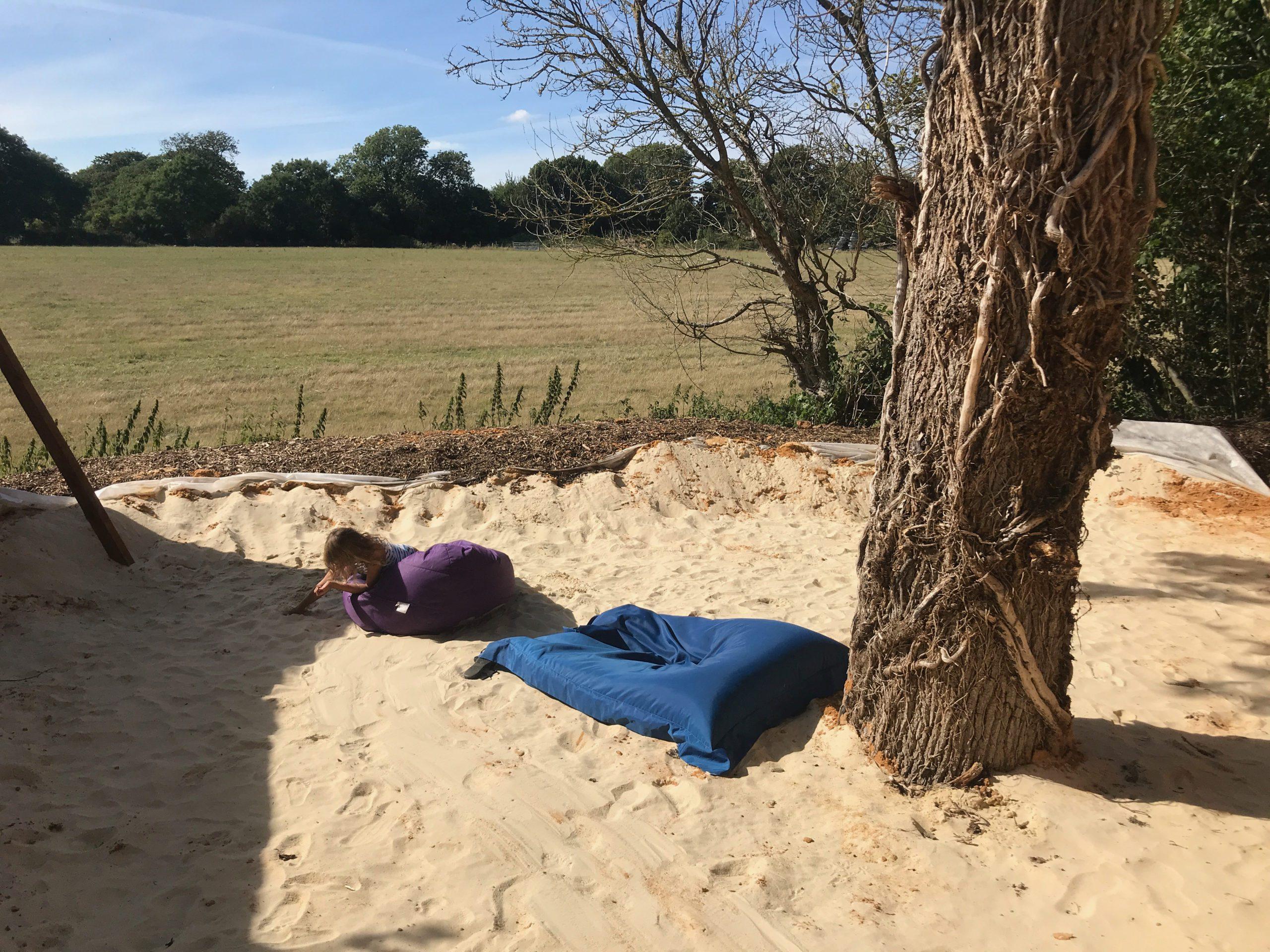 Secret Beach Plush Tents Glamping