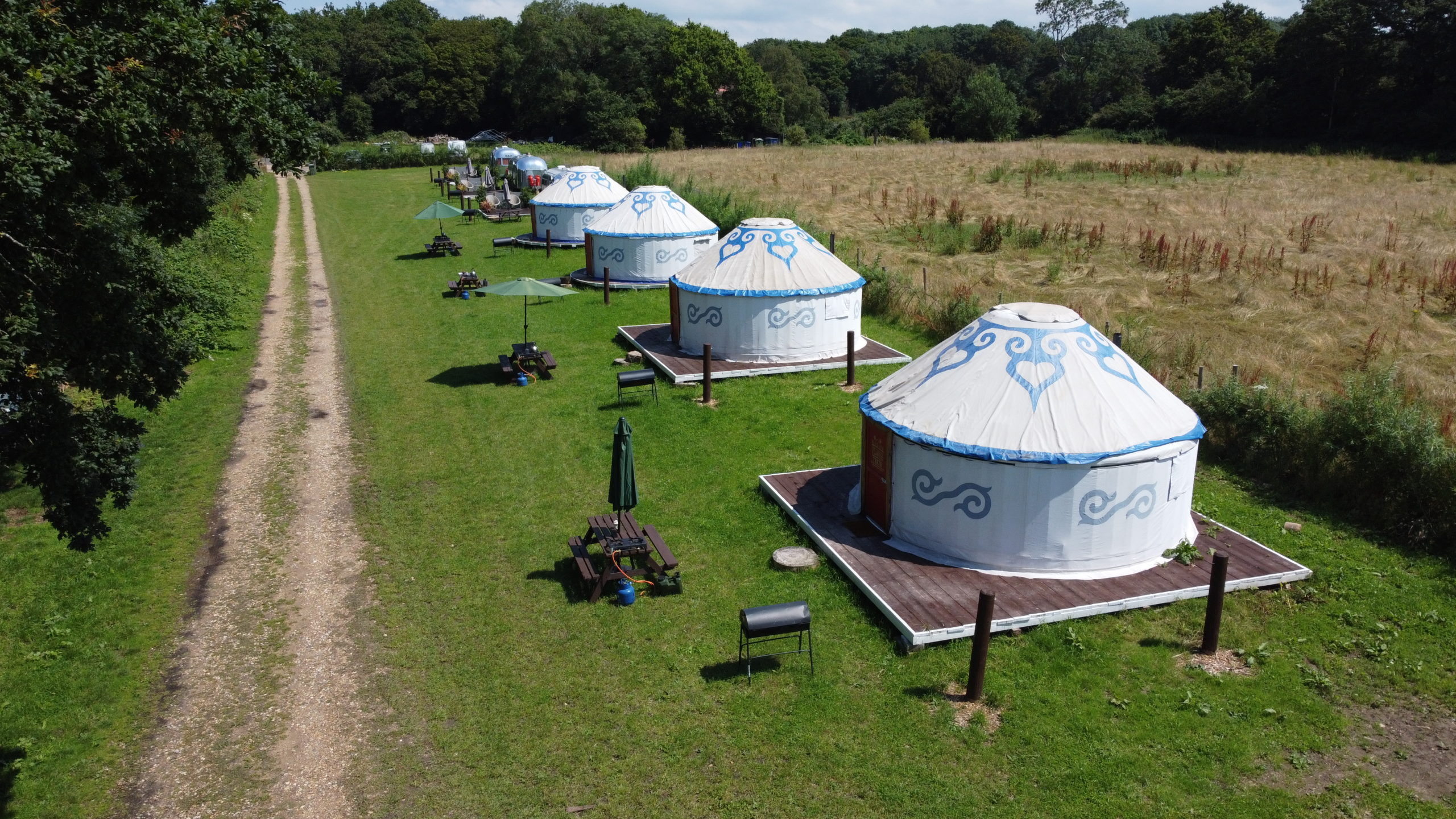 Field Yurts Plush Tents Glamping