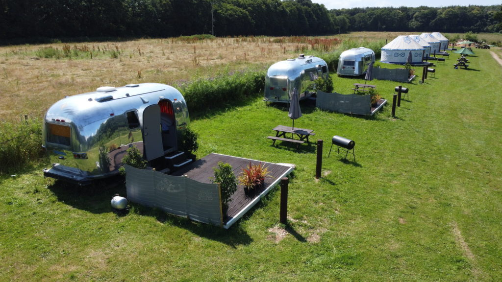 Airstreams Plush Tents Glamping