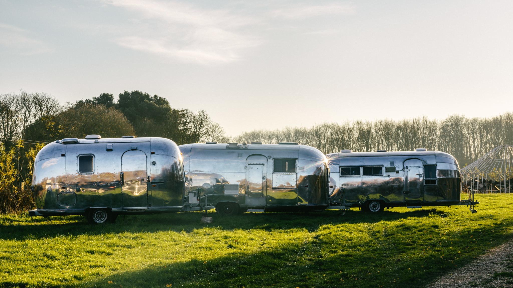 Airstream Fleet Plush Tents Glamping